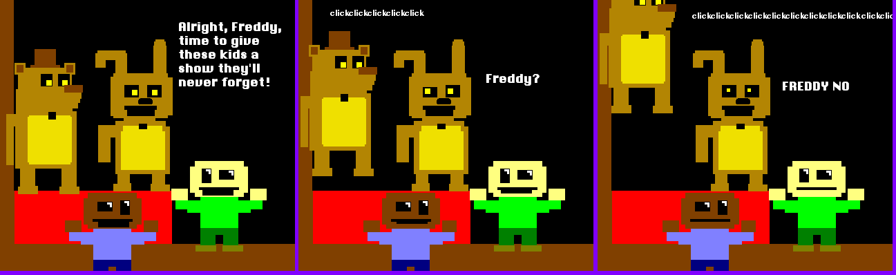 Fnaf 3 minigame meme by WitheredFoxy