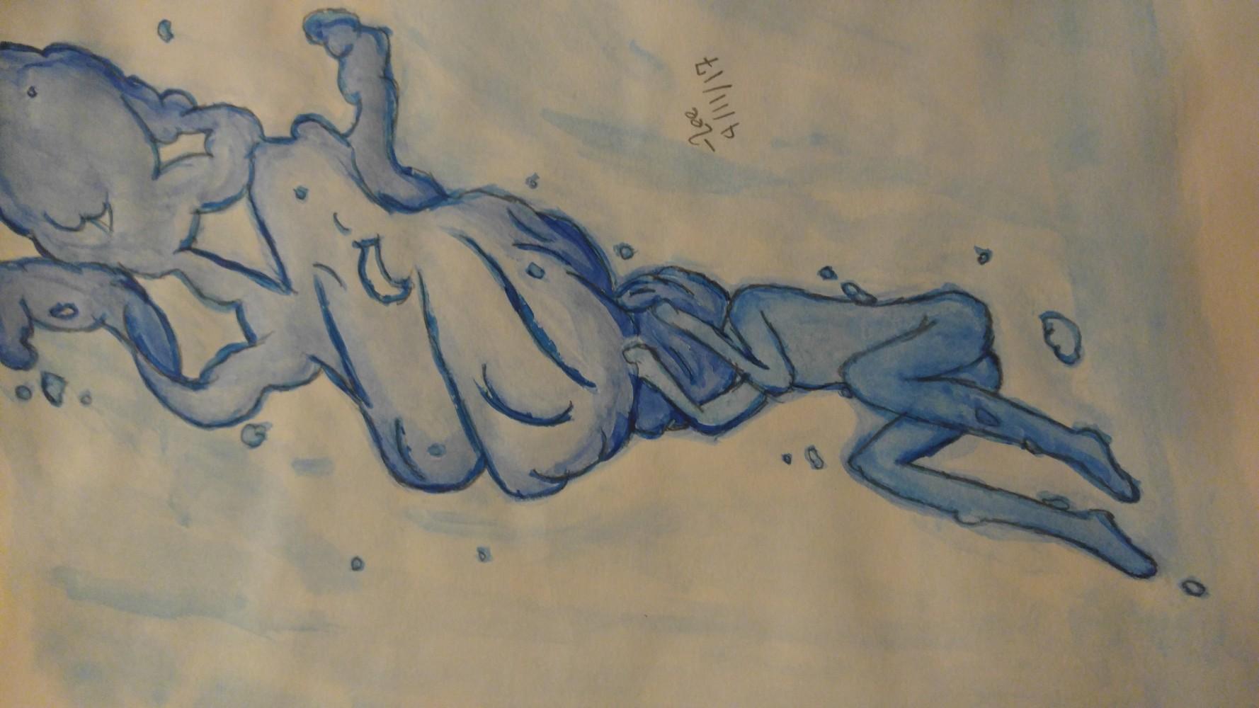 Drowning by Leeeee