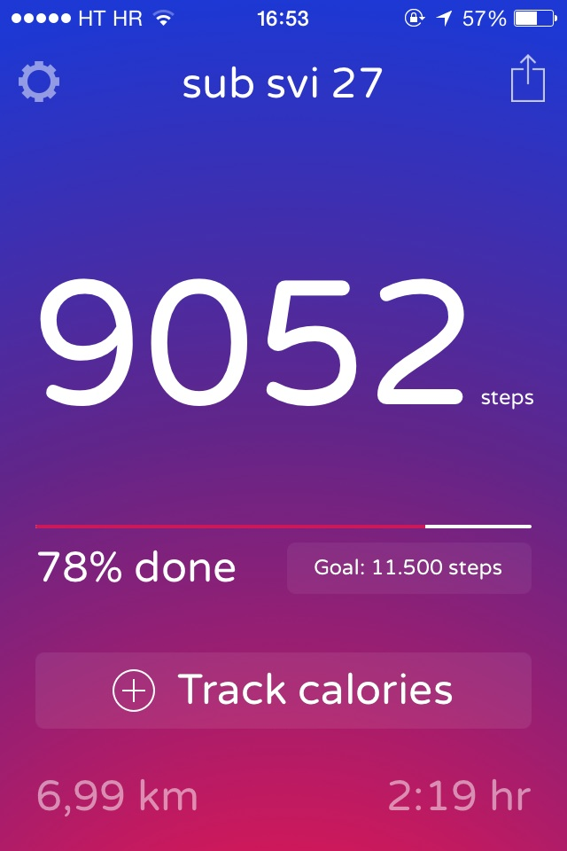 Anyone else tracks their steps?XD by Heleela