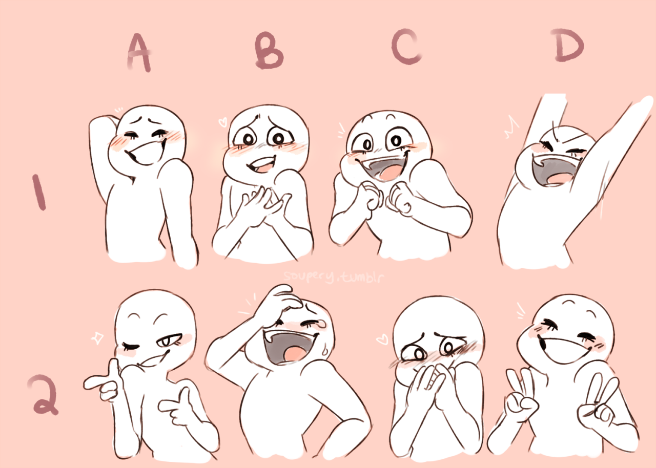 Send me a character + expression! by 3stelle